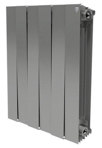 Объявления Биметаллический радиатор Royal Thermo PianoForte 500/Silver Satin - 12 секц. Новая Ладога